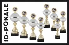 8er Pokalserie mit Deckel + Aufsatz