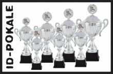 7er Pokalserie mit Deckel + Aufsatz