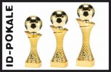 3er Fußballtrophäen