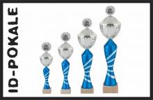 4er Pokalserie mit Deckel + Aufsatz