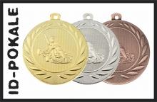 Medaillen Kartsport
