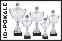 5er Pokalserie mit Deckel + Aufsatz